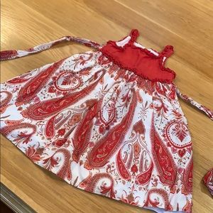TRISH SCULLY Dynamite  🧨 Red Hot Dress Size 2T